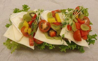 Vegetarisk stubbe, 2p